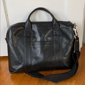 Jack Spade Leather Briefcase